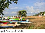 Лодки острова Бали (2012 год). Редакционное фото, фотограф Чехов Дмитрий Валерьевич / Фотобанк Лори