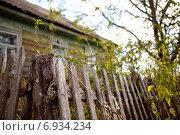 Забор старый. Стоковое фото, фотограф Анна Милованова / Фотобанк Лори
