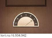 Указатель этажей. Стоковое фото, фотограф Евгений Питомец / Фотобанк Лори