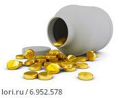 Купить «Золотые таблетки», иллюстрация № 6952578 (c) Anatoly Maslennikov / Фотобанк Лори