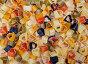 Макароны в форме сердца, фото № 6954974, снято 1 февраля 2015 г. (c) Наталья Волкова / Фотобанк Лори