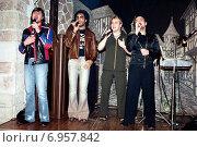 """Группа """"Премьер-министр"""", старое фото на пленку. Редакционное фото, фотограф Корнеев Дмитрий / Фотобанк Лори"""