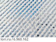 Купить «Забор из сетки-рабицы в снегу», фото № 6960162, снято 22 января 2015 г. (c) Володина Ольга / Фотобанк Лори