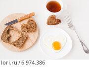 Романтический завтрак. Стоковое фото, фотограф Елена Захарченко / Фотобанк Лори
