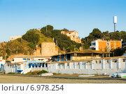 Купить «Catalan town at mediterranean coast. Montgat», фото № 6978254, снято 2 июня 2014 г. (c) Яков Филимонов / Фотобанк Лори