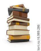 Купить «Стопка книг», иллюстрация № 6989286 (c) Anatoly Maslennikov / Фотобанк Лори