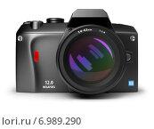 Купить «Цифровая фотокамера», иллюстрация № 6989290 (c) Anatoly Maslennikov / Фотобанк Лори