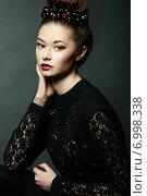 Купить «Photo of beautiful woman with magnificent hair. Perfect makeup», фото № 6998338, снято 21 декабря 2013 г. (c) Ingram Publishing / Фотобанк Лори