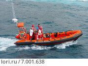 Лодка спасателей, Тенерифе, Канарские острова. Редакционное фото, фотограф Наталья Большакова / Фотобанк Лори