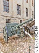 Купить «Советская 76-мм дивизионная пушка образца 1902/30 годов в музее Войска Польского в Варшаве, Польша», фото № 7002146, снято 20 октября 2014 г. (c) Иван Марчук / Фотобанк Лори