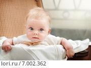 Младенец, нежный ретро образ. Стоковое фото, фотограф Мария Мороз / Фотобанк Лори