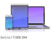 Купить «Электронные устройства», иллюстрация № 7008394 (c) Anatoly Maslennikov / Фотобанк Лори