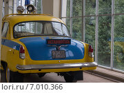 Советская милицейская машина (2014 год). Редакционное фото, фотограф Галина Нагаева / Фотобанк Лори