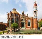 Купить «Hospital de Sant Pau in Barcelona», фото № 7011146, снято 13 сентября 2014 г. (c) Яков Филимонов / Фотобанк Лори