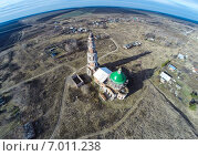 Купить «Деревня Перевлес», фото № 7011238, снято 24 февраля 2020 г. (c) Андрей Родионов / Фотобанк Лори