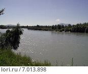 Купить «Река Катунь, Алтай, Россия», фото № 7013898, снято 4 августа 2002 г. (c) Александр Карпенко / Фотобанк Лори