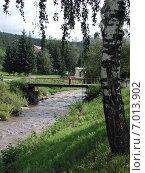 Купить «Река Белокуриха, Алтайский край», фото № 7013902, снято 6 августа 2005 г. (c) Александр Карпенко / Фотобанк Лори