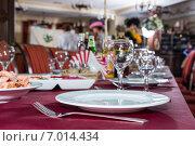 Купить «Перед банкетом», фото № 7014434, снято 3 ноября 2013 г. (c) Королевский Иван / Фотобанк Лори