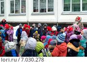 Масленичные гулянья в детском саду (2015 год). Редакционное фото, фотограф Анастасия Кузьмина / Фотобанк Лори