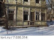 Заброшенный дом (2015 год). Стоковое фото, фотограф Геннадий Машанин / Фотобанк Лори