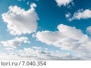 Купить «Небо», фото № 7040354, снято 22 февраля 2015 г. (c) Захар Гончаров / Фотобанк Лори