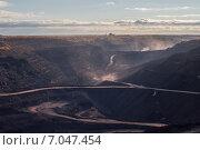 Угольный разрез. Стоковое фото, фотограф Олег Новожилов / Фотобанк Лори