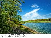 Озеро в лесу. Стоковое фото, фотограф Кононенко Александр / Фотобанк Лори