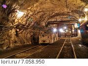 Руд двор горизонта шахты. Стоковое фото, фотограф Виталий Шубарин / Фотобанк Лори