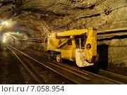 ПКШ - рудничный транспорт. Стоковое фото, фотограф Виталий Шубарин / Фотобанк Лори