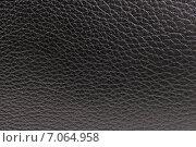 Купить «Черная блестящая кожа. Фон», эксклюзивное фото № 7064958, снято 28 апреля 2014 г. (c) Юрий Морозов / Фотобанк Лори