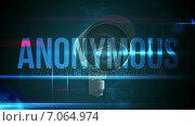 CCTV camera with anonymous text. Стоковое видео, агентство Wavebreak Media / Фотобанк Лори