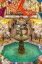 Зимнее оформление знаменитого фонтана в центре Торгового дома ГУМ. Москва, фото № 7070482, снято 17 февраля 2015 г. (c) Владимир Сергеев / Фотобанк Лори