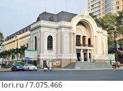 Купить «Оперный театр Хошимина/Сайгона (Saigon Opera House), Хошимин, Вьетнам», фото № 7075466, снято 20 января 2015 г. (c) Овчинникова Ирина / Фотобанк Лори