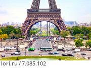 Париж. Эйфелева башня (2014 год). Стоковое фото, фотограф Parmenov Pavel / Фотобанк Лори