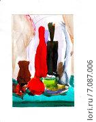Эскиз натюрморта. Стоковая иллюстрация, иллюстратор Diana Borisova / Фотобанк Лори
