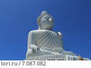 Купить «Большой Будда на острове Пхукет. Таиланд», фото № 7087082, снято 20 февраля 2015 г. (c) Алексей Сварцов / Фотобанк Лори