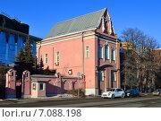 Купить «Резиденция посла Австралии (Пречистенская набережная, 3 строение 1). Москва», эксклюзивное фото № 7088198, снято 16 февраля 2015 г. (c) lana1501 / Фотобанк Лори