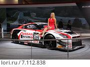 Купить «Nissan nismo sport на ММАС 2014», фото № 7112838, снято 3 сентября 2014 г. (c) Владимир Тучин / Фотобанк Лори