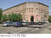 Купить «Улица Руставели, дом № 1/2 в Москве», эксклюзивное фото № 7119762, снято 12 мая 2010 г. (c) Алёшина Оксана / Фотобанк Лори