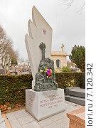 Купить «Памятник испанцам, погибшим за свободу во время Второй мировой войны. Кладбище Пер-Лашез (Pere Lachaise) в Париже, Франция», фото № 7120342, снято 21 февраля 2015 г. (c) Иван Марчук / Фотобанк Лори