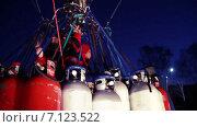 Федор Конюхов во время установления рекорда по продолжительности полета на воздушном шаре (2015 год). Редакционное видео, видеограф Игорь Кузнецов / Фотобанк Лори