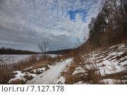 Купить «Весна на Оке», фото № 7127178, снято 9 марта 2015 г. (c) Андрей Ярцев / Фотобанк Лори