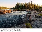 Карелия, река. Стоковое фото, фотограф Александр Андреевич Сячин / Фотобанк Лори