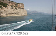 Купить «Поездка на яхте», видеоролик № 7129622, снято 4 июня 2014 г. (c) Smolin Ruslan / Фотобанк Лори