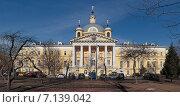 Купить «Москва. Первая Градская больница. Главное здание (Больничный храм)», фото № 7139042, снято 18 марта 2015 г. (c) Юрий Кирсанов / Фотобанк Лори