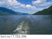 Телецкое озеро. Стоковое фото, фотограф Alexander Zholobov / Фотобанк Лори