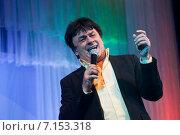 Купить «Знаменитость. Певец Александр Серов», эксклюзивное фото № 7153318, снято 14 октября 2011 г. (c) Gagara / Фотобанк Лори
