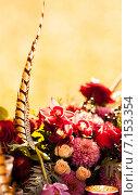 Купить «Цветочная композиция в стиле Бохо», фото № 7153354, снято 18 августа 2018 г. (c) Влад  Плотников / Фотобанк Лори