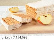 Купить «Пастила из печеных яблок», фото № 7154098, снято 22 марта 2015 г. (c) Бурмистрова Ирина / Фотобанк Лори