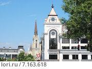 Купить «Центр города Нови Сад, Сербия», фото № 7163618, снято 12 июня 2014 г. (c) Лифанцева Елена / Фотобанк Лори